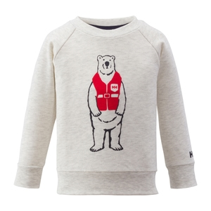 HELLY HANSEN(ヘリーハンセン) HJ31561 K Bear Print Crew 100 ZI