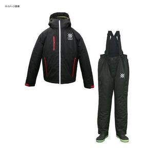 WBA1707 防水防寒透湿ウィンタースーツ(上下セット) L BK(ブラック)