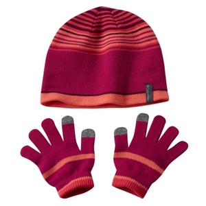 Youth Hat and Glove Set ワンサイズ 684(Deep Blush )