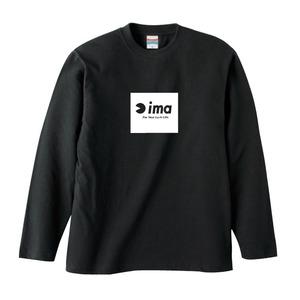 アムズデザイン(ima) ima ロングスリーブTシャツ XL ブラック 4008242