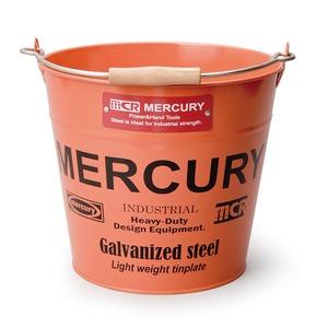MERCURY(マーキュリー) ブリキバケツ レギュラー オレンジ MEBUBROR