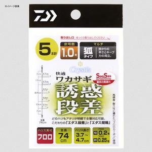 ダイワ(Daiwa) クリスティア 快適ワカサギ仕掛けSS マルチキツネ型 誘惑段差 5本/1.5号 07348043