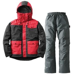 汚れに強い防水防寒スーツ カーター LL ブラック