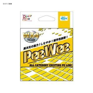 アルファタックル(alpha tackle) PeeWee WX4(ピーウィー WX4) 150m 0.4号 イエロー 24632
