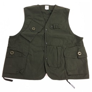 SOUTH2 WEST8 Tenkara Vest-Wax Coating BG778 タックルベスト