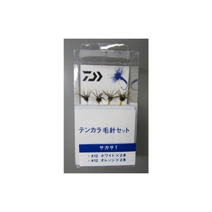 ダイワ(Daiwa) テンカラ毛針セット サカサ1 07318001
