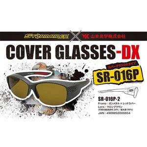 ストームライダー(STORM RIDER) SR-016-P COVER GLASSES-DX 偏光サングラス