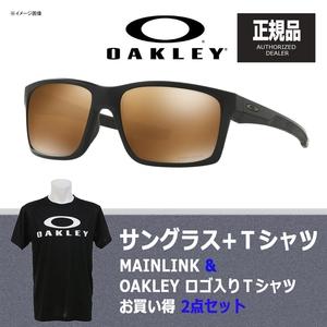 【送料無料】OAKLEY(オークリー) MAINLINK(メインリンク) + Tシャツ 【お買い得2点セット】 プリズム ティムステム ポラライズド