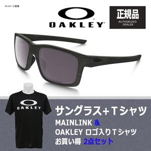 【送料無料】OAKLEY(オークリー) MAINLINK(メインリンク) + Tシャツ 【お買い得2点セット】 プリズム デイリー ポラライズド