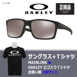 OAKLEY(オークリー) MAINLINK(メインリンク) + Tシャツ 【お買い得2点セット】 偏光サングラス