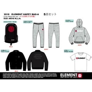ELEMENT(エレメント) 2018 ELEMENT HAPPY BAG メンズ5点セット EL17120 メンズダウン・化繊ジャケット