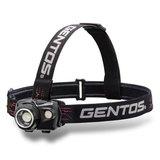GENTOS(ジェントス) WS-100H ヘッドライト 最大550ルーメン 充電式/単四乾電池兼用 WS-100H ヘッドランプ