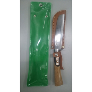 福郎(フクロ) レジャー鉈 角型 磨仕様 #471 和風刃物