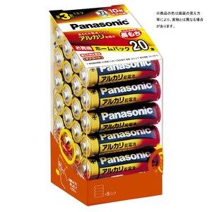 パナソニック(Panasonic) アルカリ乾電池単3形20本パック LR6XJ/20SH