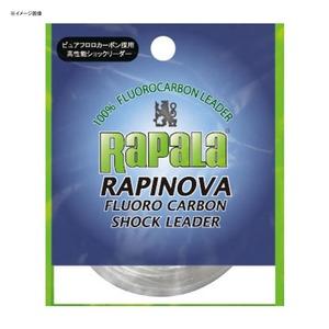 Rapala(ラパラ) ラピノヴァ フロロカーボン ショックリーダー 3.5号 クリア RFL25M14
