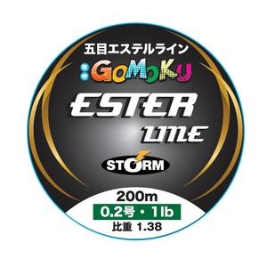 STORM(ストーム) 五目 エステル ライン 200m SET200M02CL ルアー用ポリエステルライン