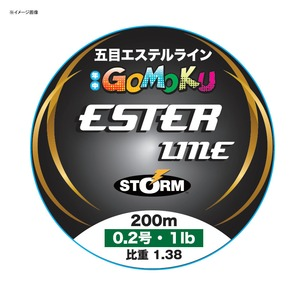STORM(ストーム) 五目 エステル ライン 200m SET200M04CL