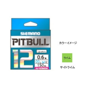 シマノ(SHIMANO) PL-M52R PITBULL(ピットブル)12 150m 57248 オールラウンドPEライン