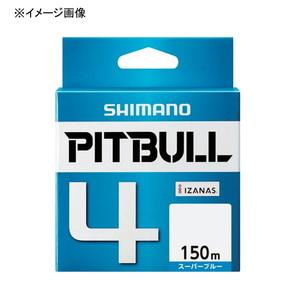 アウトドア&フィッシング ナチュラムシマノ(SHIMANO) PL-M54R PITBULL(ピットブル)4 150m 0.6号 スーパーブルー 57268