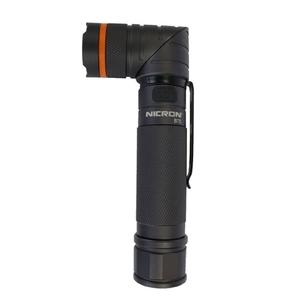 ニクロン(Nicron) Nicron B75 首振りLEDライト 300LM 充電式 140×55×30 ブラック
