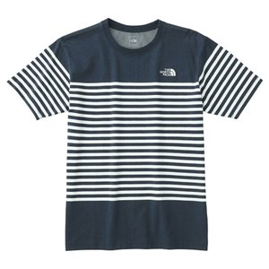 THE NORTH FACE(ザ・ノースフェイス) S/S CEOA BRDR TEE Men's NT31713 メンズ速乾性半袖Tシャツ