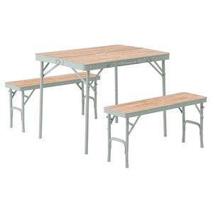 ロゴス(LOGOS) Life ベンチテーブルセット4 73183013 テーブル・チェアセット