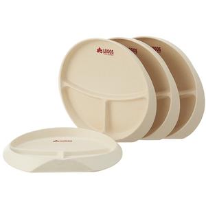 ロゴス(LOGOS) バイオプラント立つSPプレート4 81284802 メラミン&プラスティック製お皿