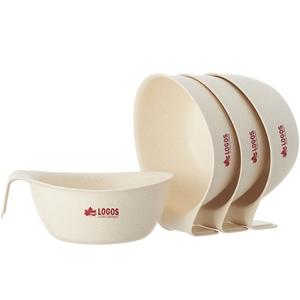 ロゴス(LOGOS) バイオプラント立つボウル4 81284801 メラミン&プラスティック製お皿