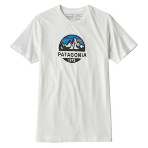 アウトドア&フィッシング ナチュラムパタゴニア(patagonia) メンズ フィッツロイ スコープ オーガニック Tシャツ M WHI(White) 39144