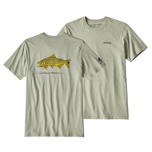 パタゴニア(patagonia) メンズ ゴールデン ドラド ワールド トラウト レスポンシビリティー 39169 メンズ半袖Tシャツ