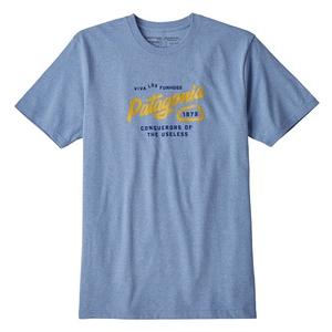 パタゴニア(patagonia) メンズ スプリッター スクリプト レスポンシビリティー 39176 メンズ半袖Tシャツ