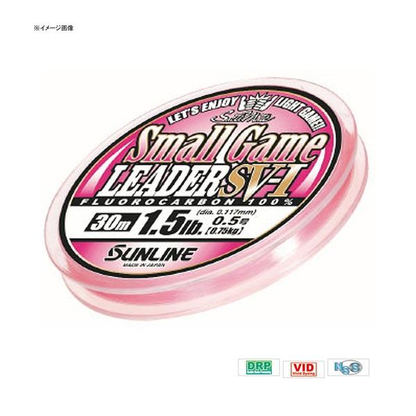 サンライン(SUNLINE) ソルティメイト・スモールゲームリーダー FC SV-1 30m ライトゲーム用ショックリーダー