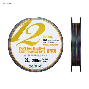 【送料無料】ダイワ(Daiwa) UVFメガセンサー12ブレイドEX+Si 300m 3号 07302062