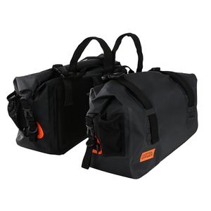 ドッペルギャンガー(DOPPELGANGER) ターポリンサイドバッグ DBT393-BK サイド&パニアバッグ