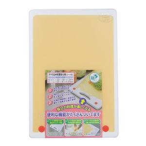 三洋化成(sanyokasei) KST-SW スベリ止抗菌まな板 シート付 SW まな板・ホワイト/シート・オレンジ