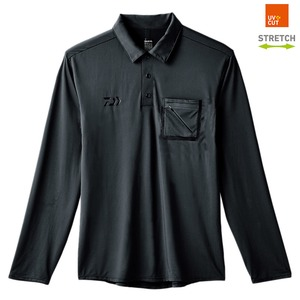 ダイワ(Daiwa) DE-69008 ストレッチロングスリーブ ポケット付きポロシャツ 08330551