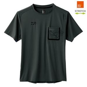 ダイワ(Daiwa) DE-86008 ストレッチハーフスリーブ ポケット付きポロシャツ 08330571 フィッシングシャツ