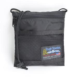 Tough Traveler(タフ トラベラー) Large Pouch With Mesh Pocket フリー BLACK TT-0008