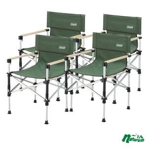 Coleman(コールマン) ツーウェイキャプテンチェア×4【お得な4点セット】 2000031281 座椅子&コンパクトチェア
