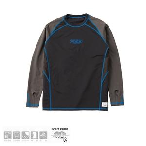 リバレイ RBB RBB 防蚊UVサムホールラッシュガード 8801 フィッシングシャツ