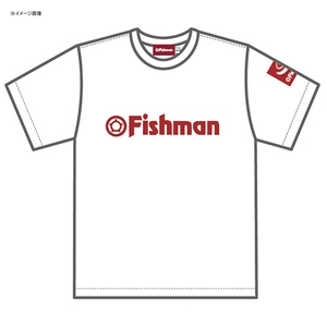 Fishman(フィッシュマン) Fishman ドライTシャツ XL ホワイト