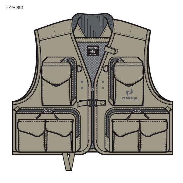 パズデザイン バーサタイルベストII ZFV-030 フィッシングベスト(メッシュあり)