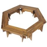 キャプテンスタッグ(CAPTAIN STAG) CSクラシックス ヘキサグリルテーブルセット(137) UP-1038 キャンプテーブル