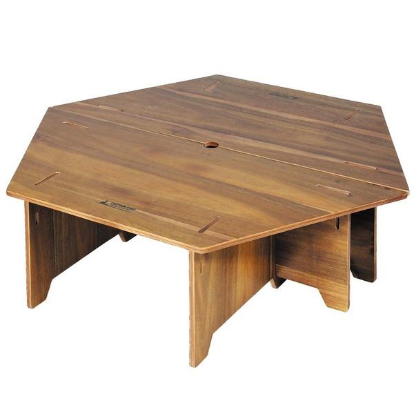 キャプテンスタッグ(CAPTAIN STAG) CSクラシックス ヘキサセンターテーブル(96) UP-1040 キャンプテーブル