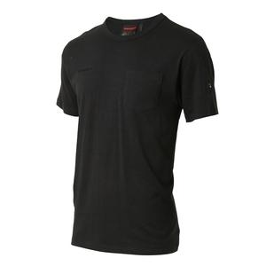 MAMMUT(マムート) Cotton Pocket T-Shirt Men's L black 1017-10001