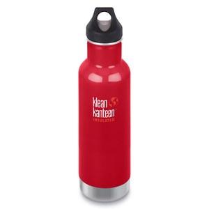 klean kanteen(クリーンカンティーン) インスレートクラシックボトル 20oz 592ml ミネラル レッド 19322016055020
