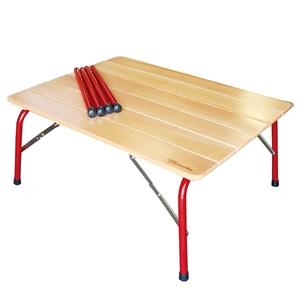 【送料無料】カステルメルリーノ(castelmerlino) ハイ&ローキャンパーテーブル 80cm 20052
