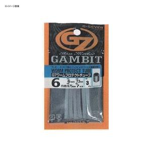 ジーセブン(G-SEVEN) G7 ワームプロテクトチューブ 7cmスティック 3.5mm G3835L