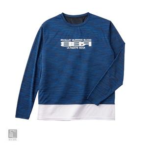 リバレイ RBB RBB ドライングTシャツ ロング LL ネイビー 8806