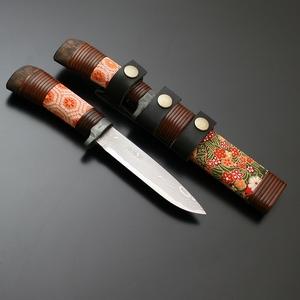 【送料無料】佐治武士 山野小刀型 丹後ちりめん SJ-11